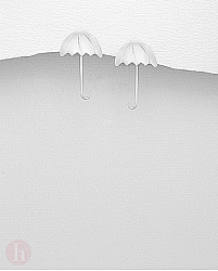 Cercei argint umbreluta