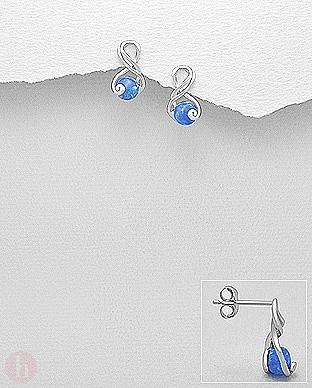 Cercei Infinity cu opal
