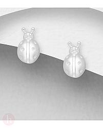Cercei mici din argint model gargarita