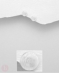 Cercei mici si rotunzi din argint, model cerc cu aspect mat