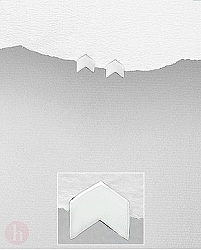 Cercei mici din argint simplu model sageata