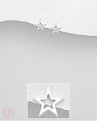 Cercei stelute mici din argint
