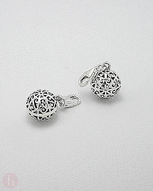 Charm - talisman argint glob filigran