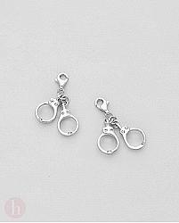 Charm - talisman din argint pentru bratara model catuse