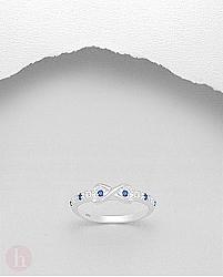 Inel argint Infinit cu cristale Zirconia