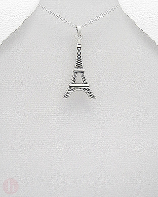 Pandantiv argint Turnul Eiffel