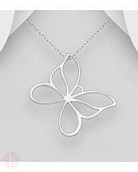 Pandantiv din argint model fluture