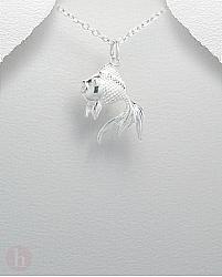 Pandantiv din argint model peste