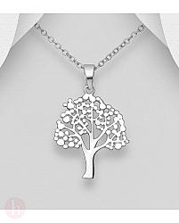 Pandantiv din argint model Tree of Life