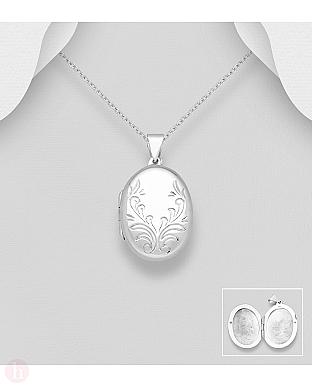 Pandantiv din argint pentru fotografie